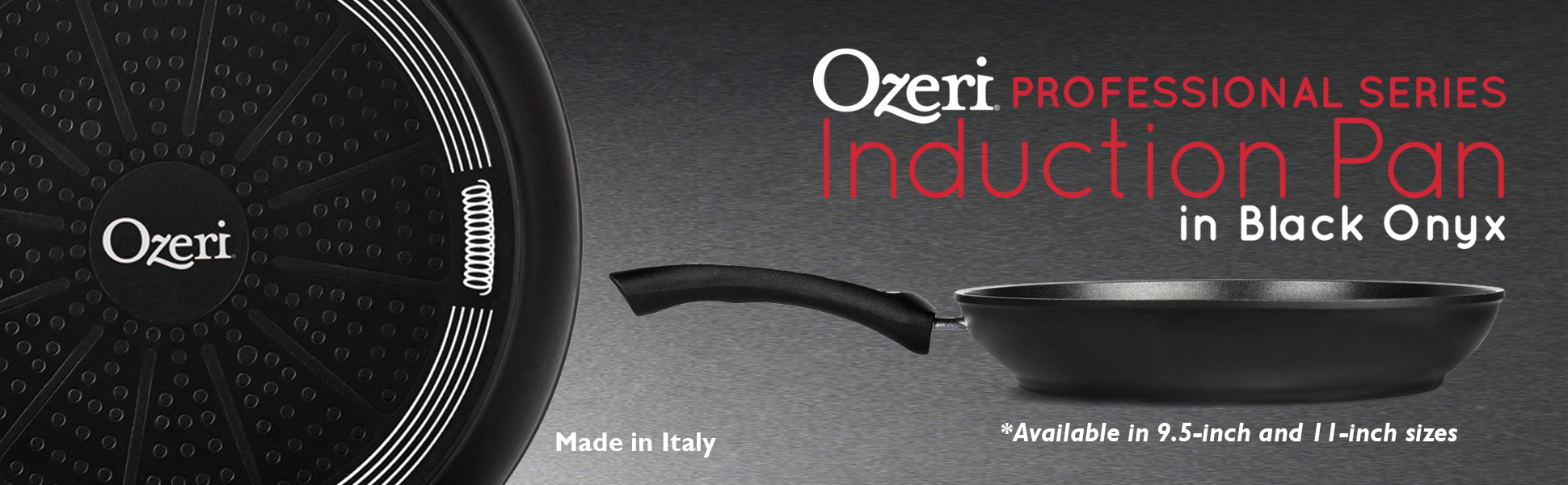 Ozeri Professional Series Ceramic Earth Pan, Hand Cast and Made in Germany